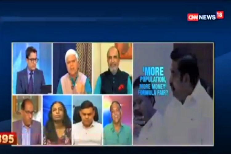 North India wept more for Sridevi BJP man on TV debate about North-South tax tussle