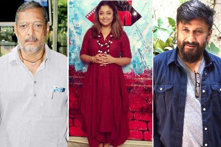 Tanushree sexual harassment row Nana Patekar Vivek Agnihotri send legal notices