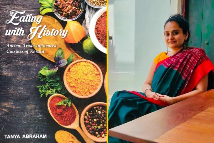 Author Tanya Abraham and her new book Eating With History Ancient Trade-Influenced Cuisines of Kerala