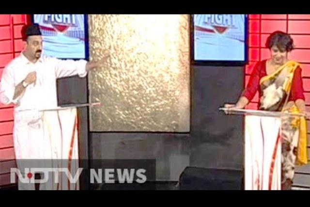 Video Muslim leader walks out of NDTV show refusing to share screen with Taslima Nasrin