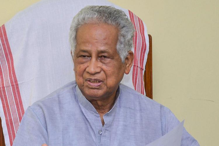 Former Assam Chief Minister Tarun Gogoi