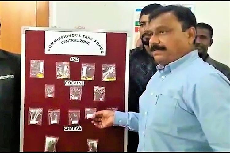 Hyderabad police uncover drug nexus arrest four and seize cocaine and LSD