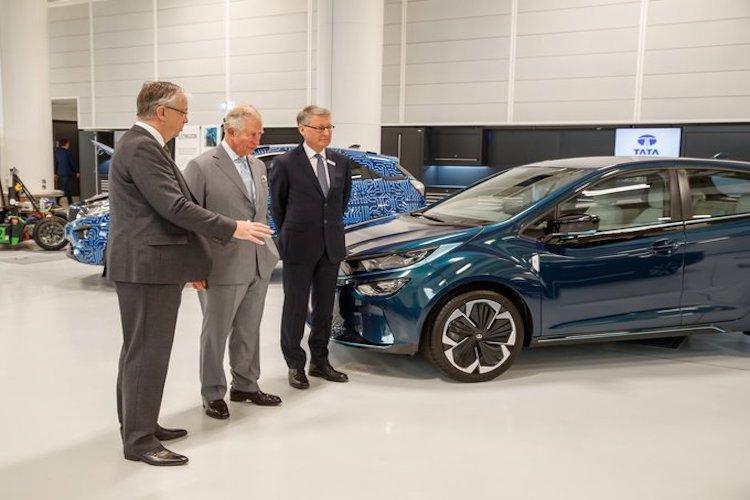 Tata Motors JLR unveils futuristic electric driverless car concept