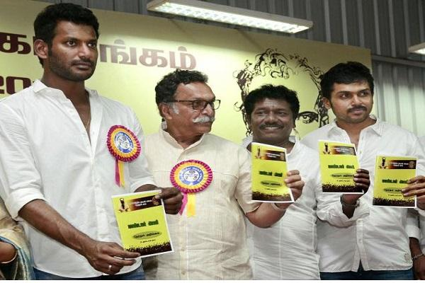 Nadigar Sangam is debt-free says actor Vishal