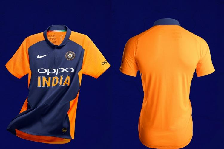 Its official India will debut new away jersey in World Cup game vs England