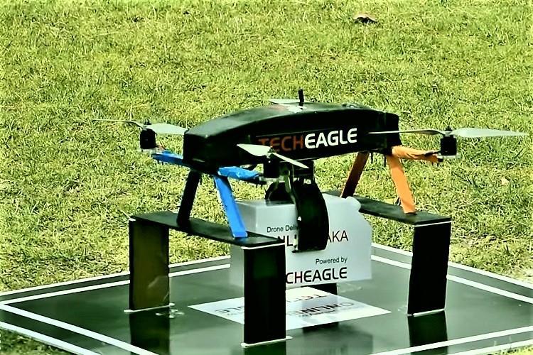 Zomato acquires Lucknow-based drone delivery startup TechEagle