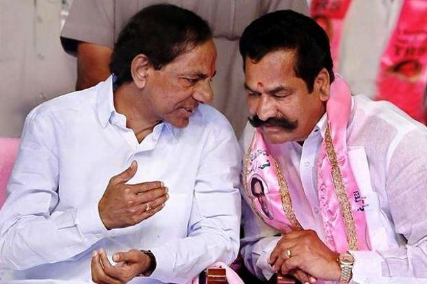 GHMC polls TRS leader accused of trying to bribe voters
