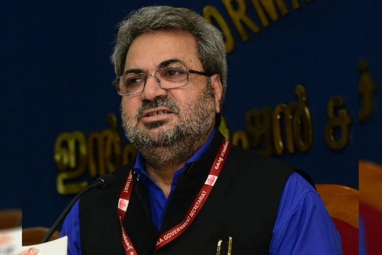 Chief Electoral Officer of Kerala Teeka Ram Meena