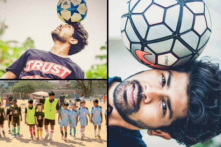 Meet the Bengaluru man who is empowering underprivileged children through football