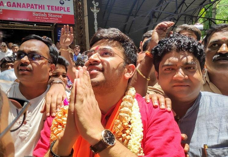 BJP has faith in young people Tejasvi Surya after filing nomination from Bengaluru South
