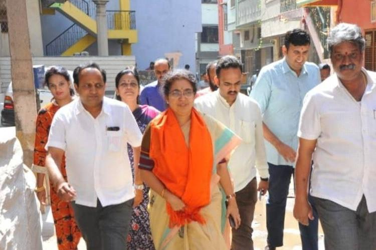 After being denied ticket Tejaswini Ananth Kumar made Vice President of BJP Ktaka