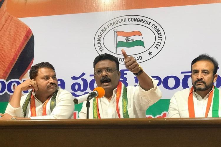 TRS is Telangana Rowdies Samithi Congress lashes out at KCR