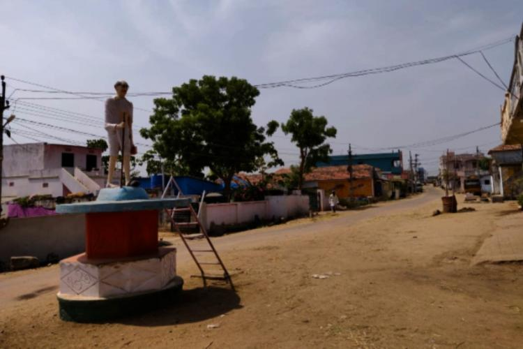 A village in Nizamabad district which is in northern part of Telangana