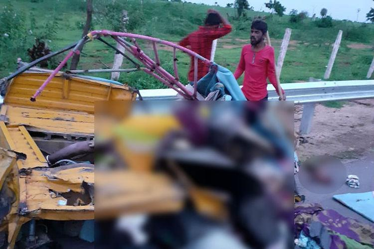 12 killed in ghastly accident in Telangana as truck hits overcrowded auto