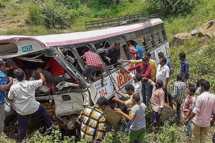 Telangana bus tragedy Lawyer moves State Human Rights Commission demanding probe