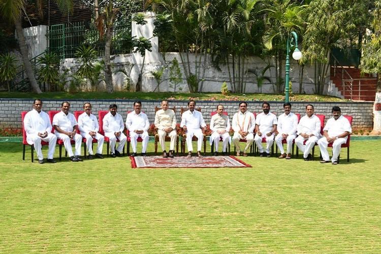 In Telangana KCRs cabinet has no women again