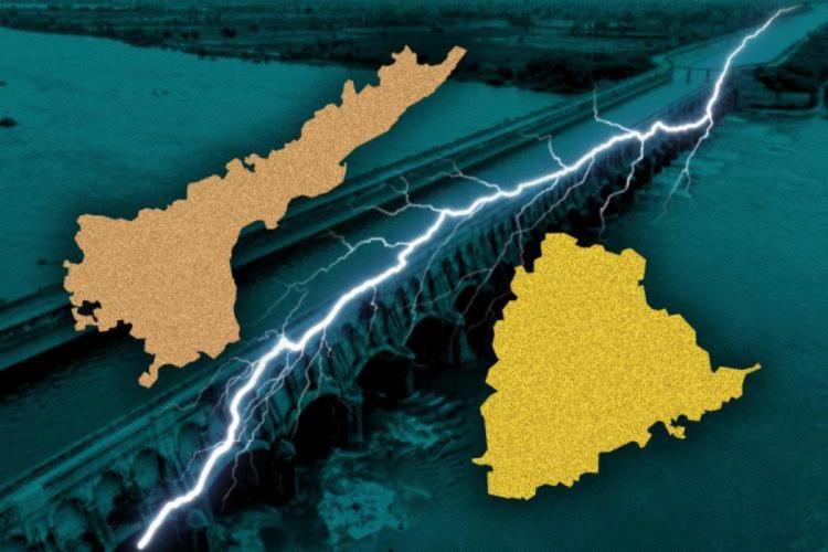An illustration of AP and Telangana