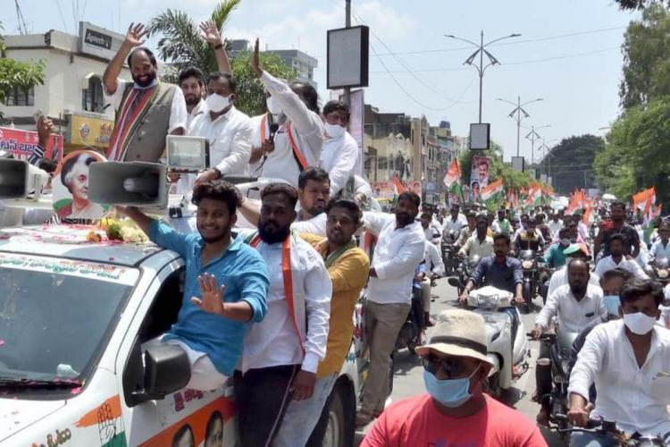 Telangana Congress faces existential crisis