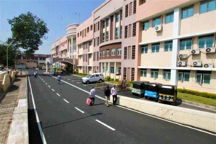 The Telangana Secretariat located in Hyderabad