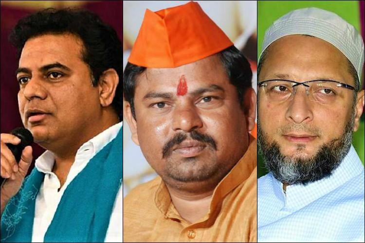 ADR Hate Speech list KTR Kavitha Owaisi named Telangana lawmakers among the worst