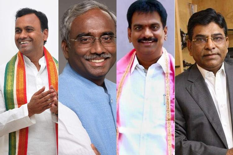 With assets of over Rs 700 crore in total meet Telanganas four richest candidates