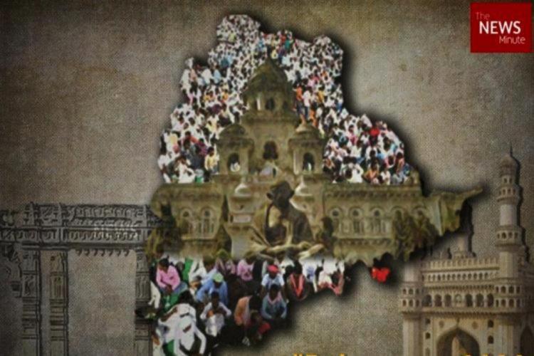 A representative illustration of Telangana state