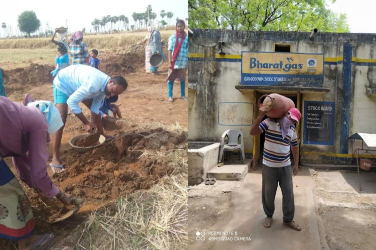 Private school teachers in Telangana turn to daily wage work amid COVID-19 crisis