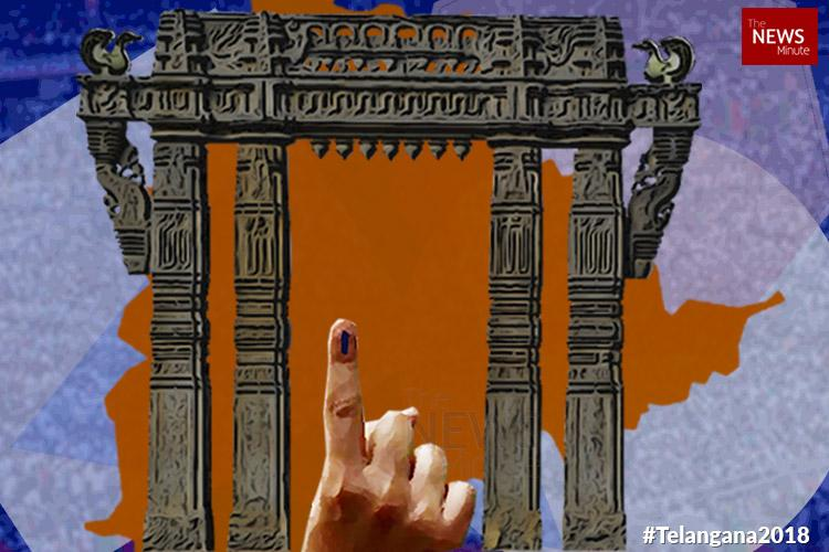 Telangana polls 3584 nominations filed with EC Congress highest with 300