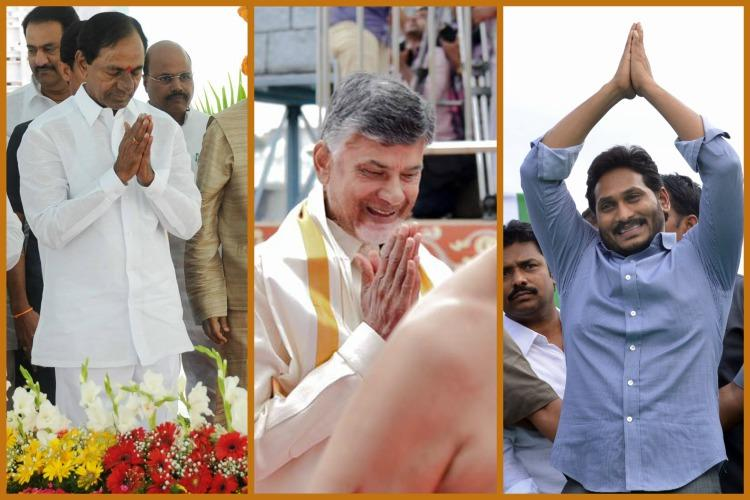 Hindu vote bank is means to retain power Why Telugu politicians are hobnobbing with seers