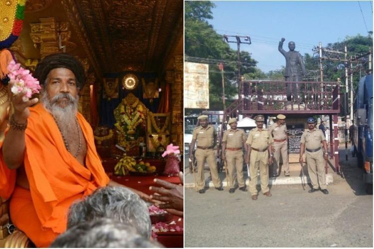 Ground report Tension in Tenkasi as Rama Rajya Rath Yatra enters TN