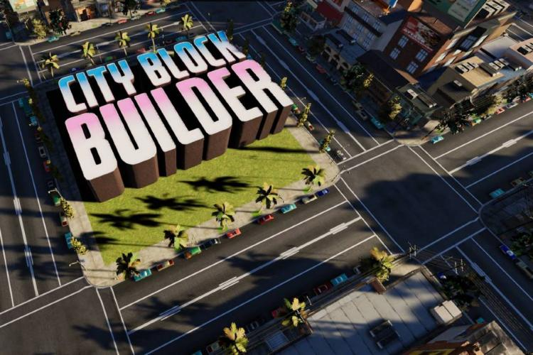A screenshot of the game City Block Builder by Tentworks