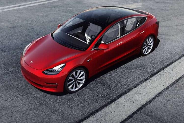Tesla announces entry-level Model 3 sedan for 35000 to be sold only online