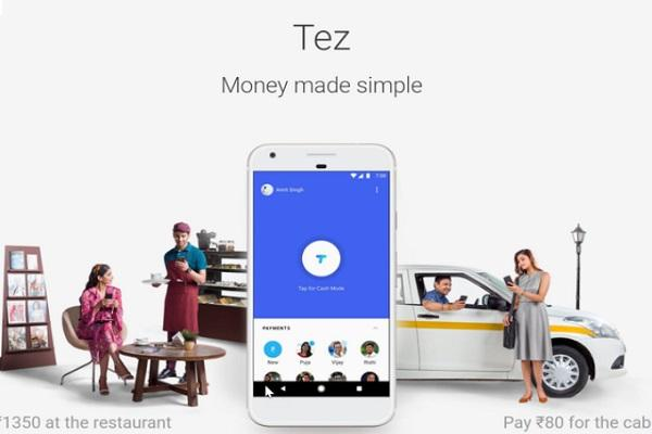 Google launches UPI-based payment app Tez in India