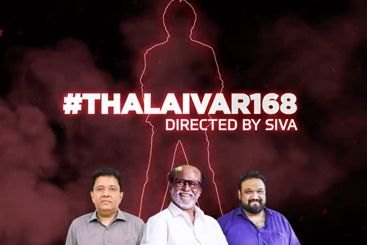 Thalaivar168 Sun Pictures announces Rajinikanths next with director Siva