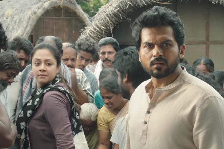 Thambi review Jyothika-Karthis slow family drama is elevated by its plot twists