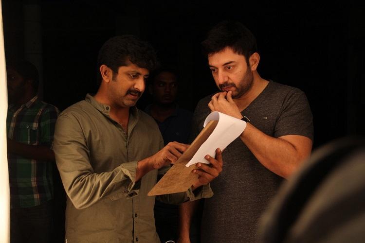 Thani Oruvan director Mohan Raja excited about Telugu remake Dhruva