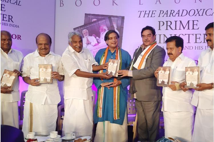 Is PM paradoxical or absurd Shatrughan Sinha at Shashi Tharoor book launch