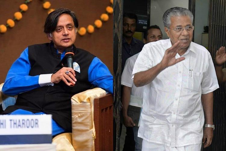 Spoke to Adani as Tpuram MP Tharoor hits back at Pinarayi over airport row