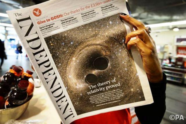 The Independent newspaper dies as it was born - in the white heat of technology