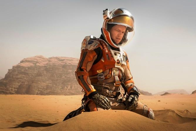 The Martian A perfect balance of scientific accuracy and gripping fiction