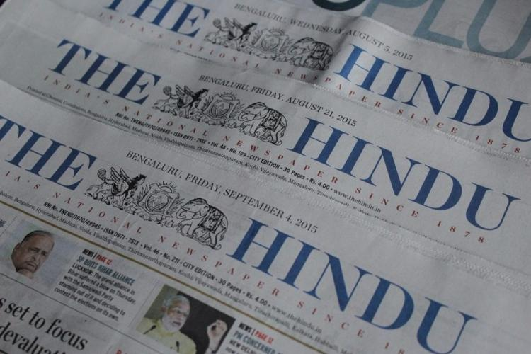 Is The Hindu biased against the Modi govt Here is the newspapers stand