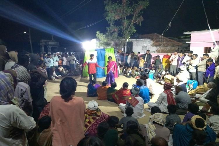 Mono-crops agrarian crisis and more Telangana farmers take the stage to educate peers