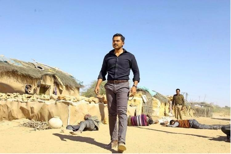 Theeran Adhigaaram Ondru Review Absorbing thriller with troubling politics