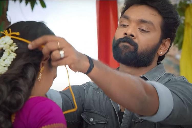 Screengrab from Thendral Vanthu Ennai Thodum teaser video