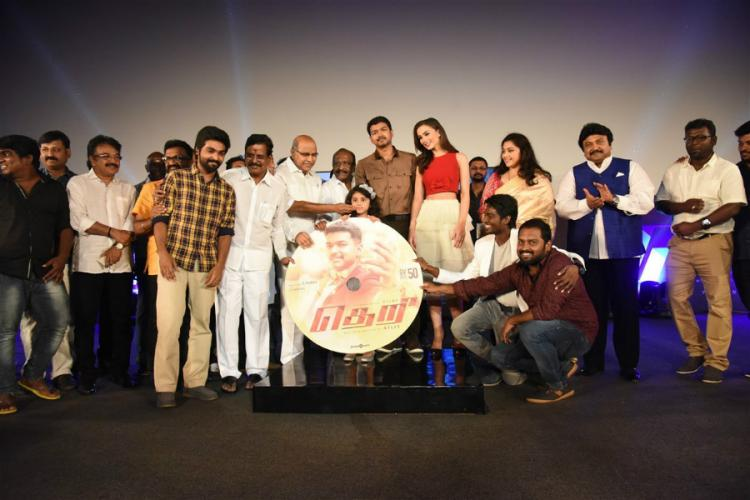 Actor Vijay delivers enthralling speech at grand audio launch of Theri