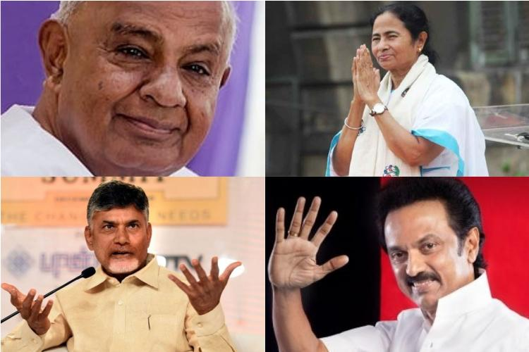 CBI row Opposition leaders from Deve Gowda to Stalin rush to support CM Mamata