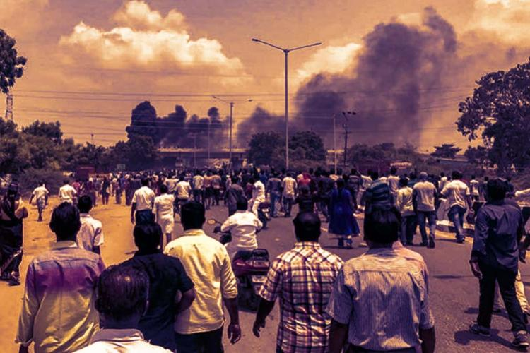 Protests against Sterlite Copper in Thoothukudi
