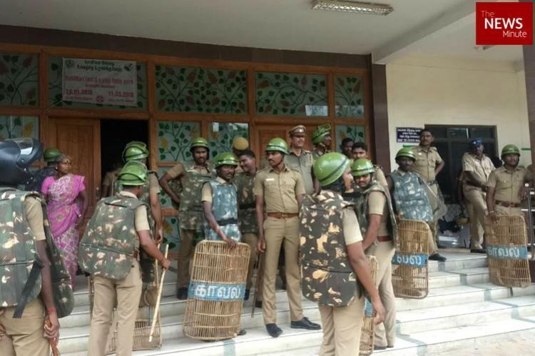 Thoothukudi violence Cops opened fire to protect people inside Collectorate says DGP