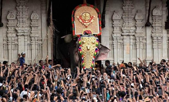 Thrissur Pooram festival begins amid security restrictions