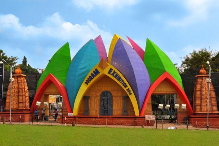 File image of Thrissur Pooram exhibition